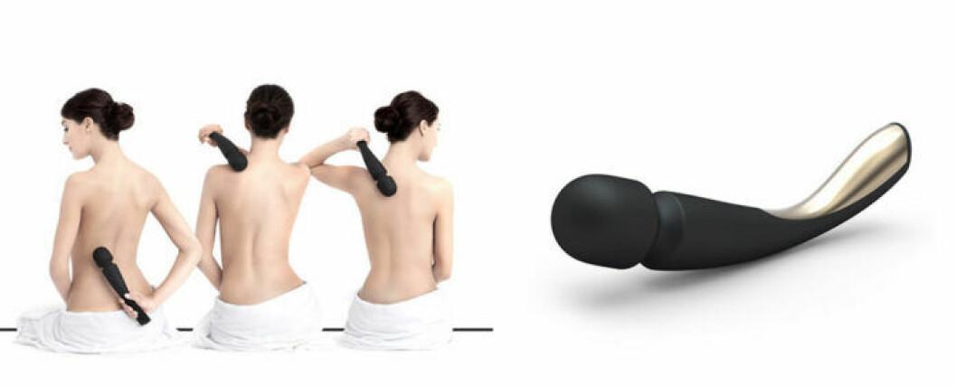 Smart wand large för massage över hela kroppen.