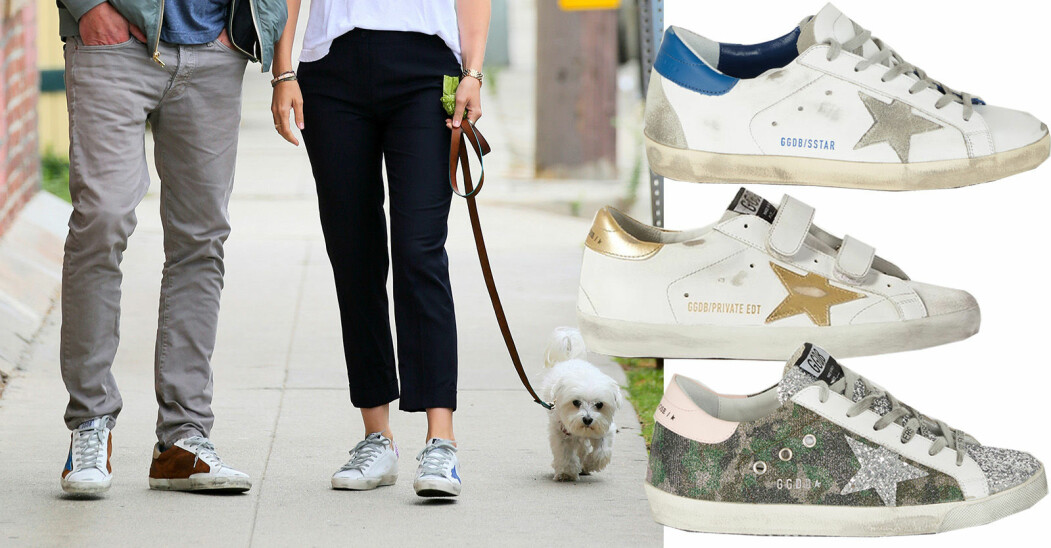 golden goose sneakers hollywood