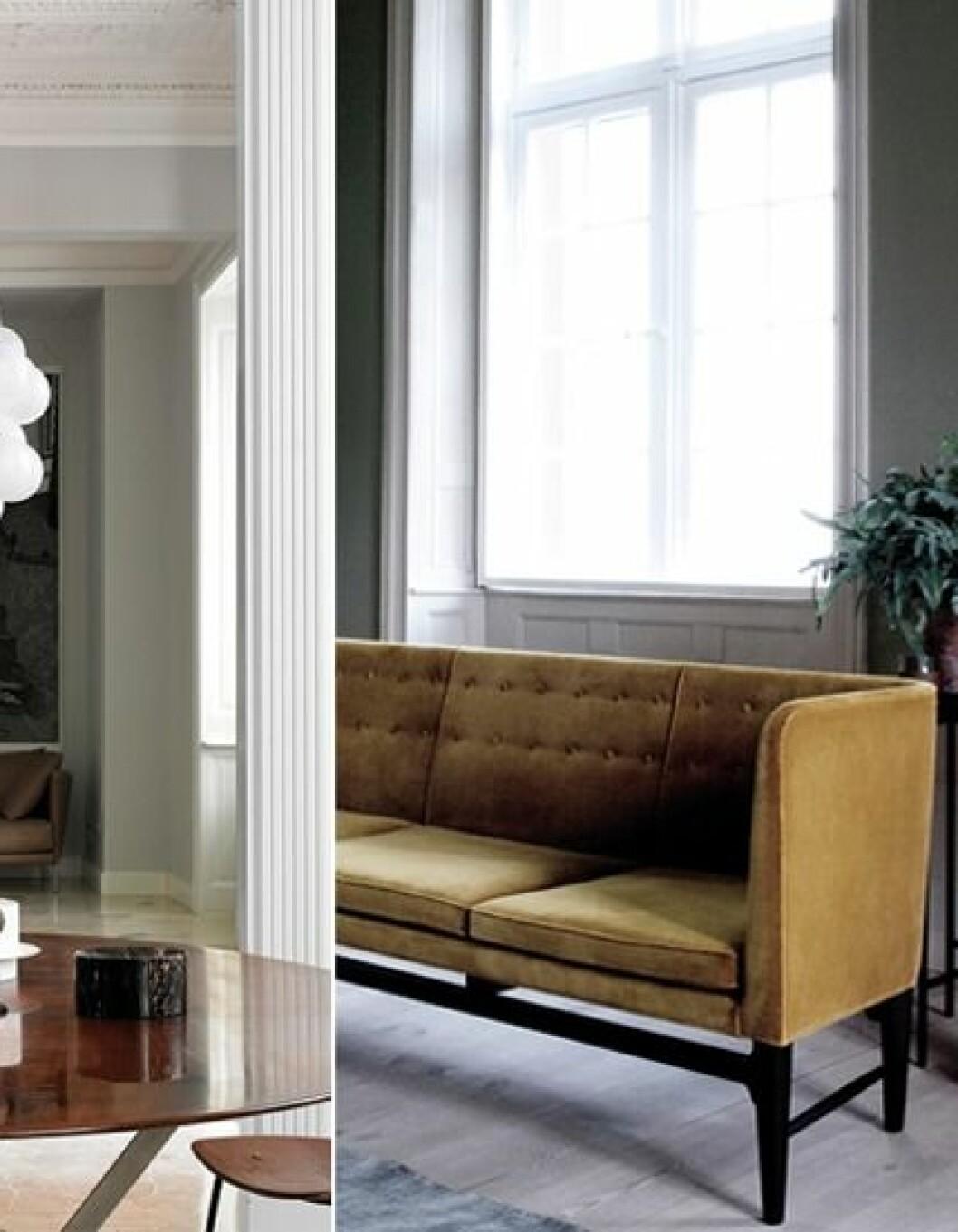 Hopfällbara möbler på balkongen gör den både praktisk och snygg