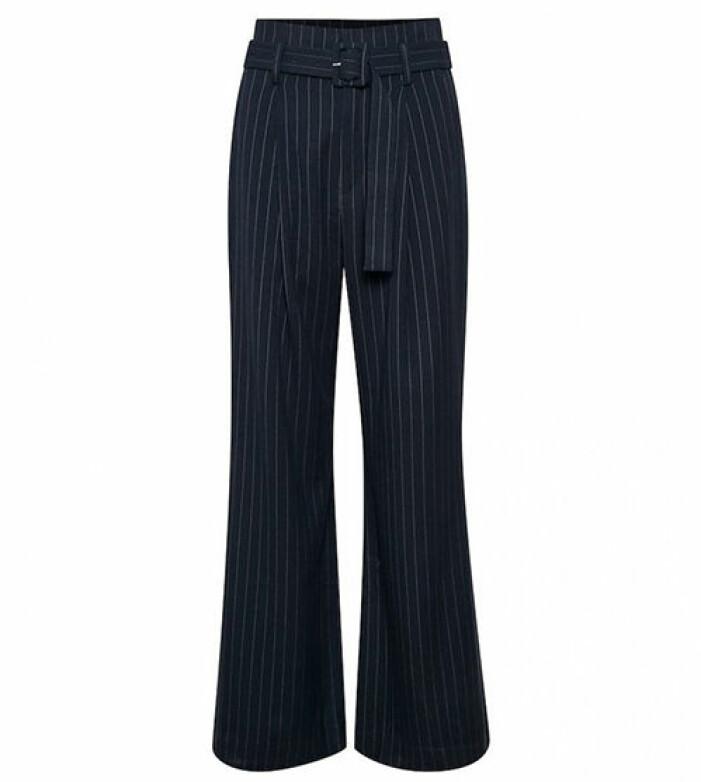 snygga kostymbyxor med hög midja