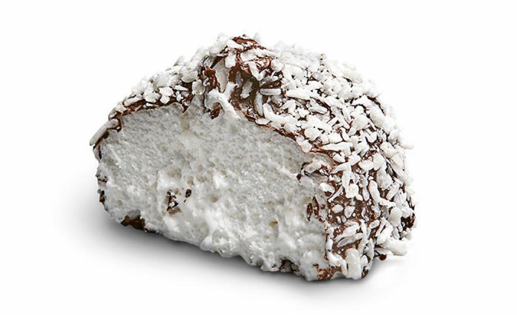 Sockerfri kokosboll från Delicato