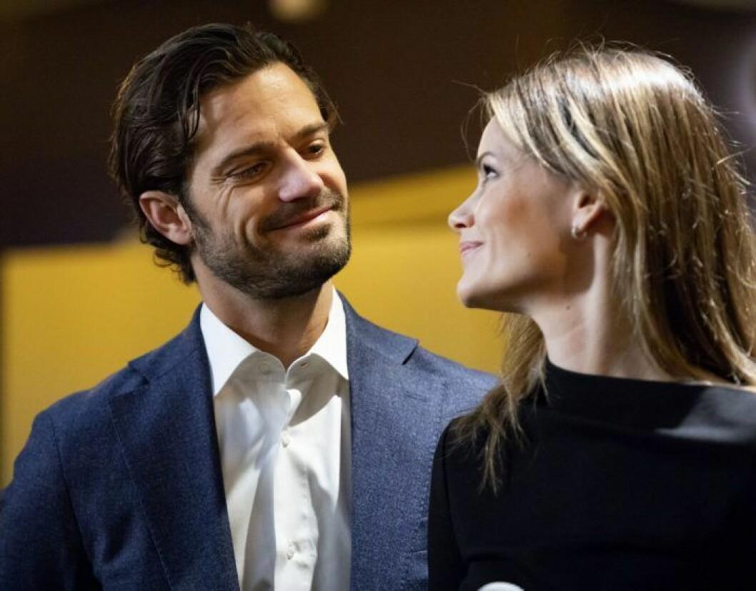 Prins Carl Philip och prinsessan Sofia.