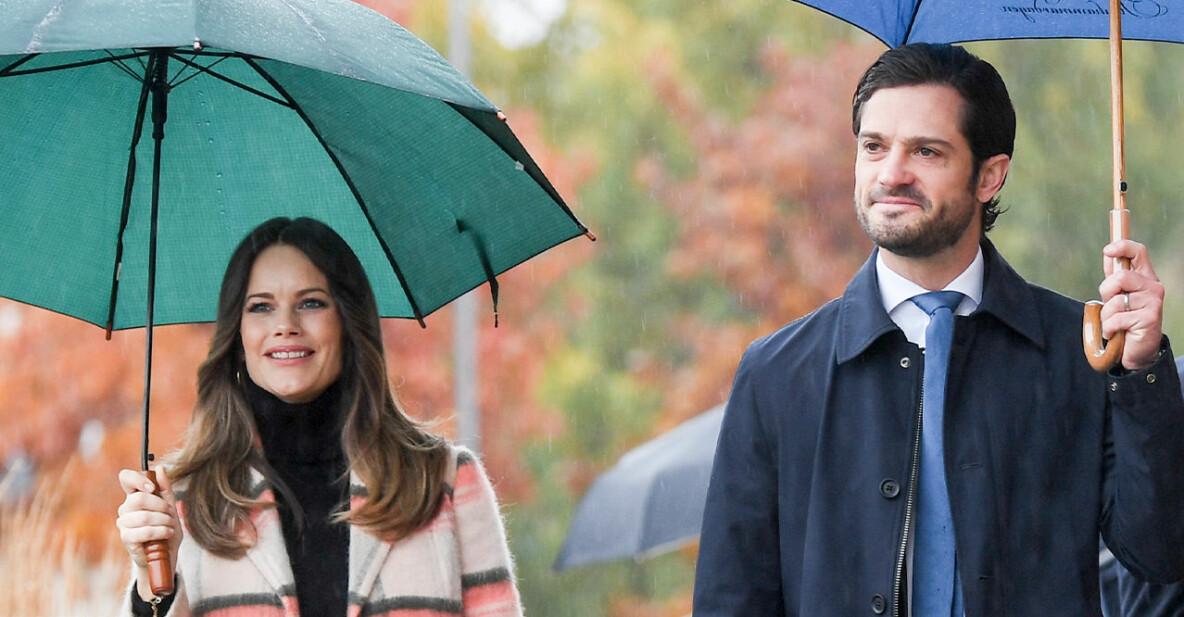 Prins Carl Philip och prinsessan Sofia väntar sitt tredje barn
