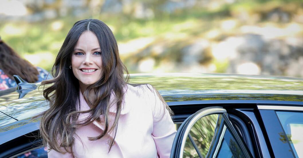 Prinsessan Sofia trivs i kungahuset.