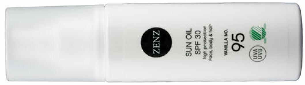 Solskyddsspray från Zenz.