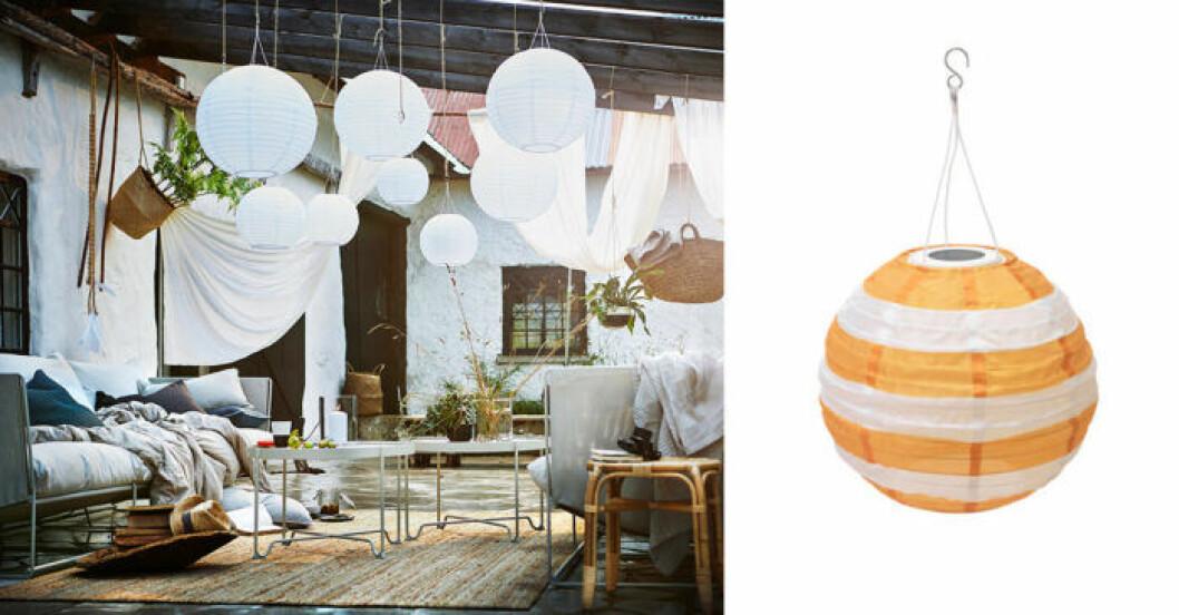 Solcellslampa Ikea