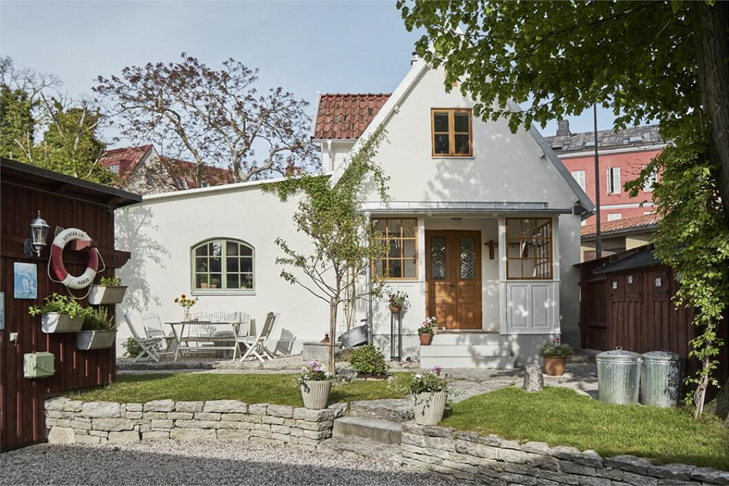 Vacker sommarhus i Visby på Gotland