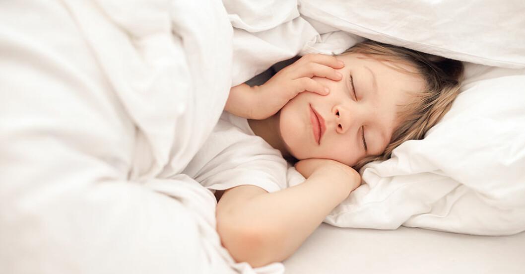 sömnbehov-hos-barn olika åldrar