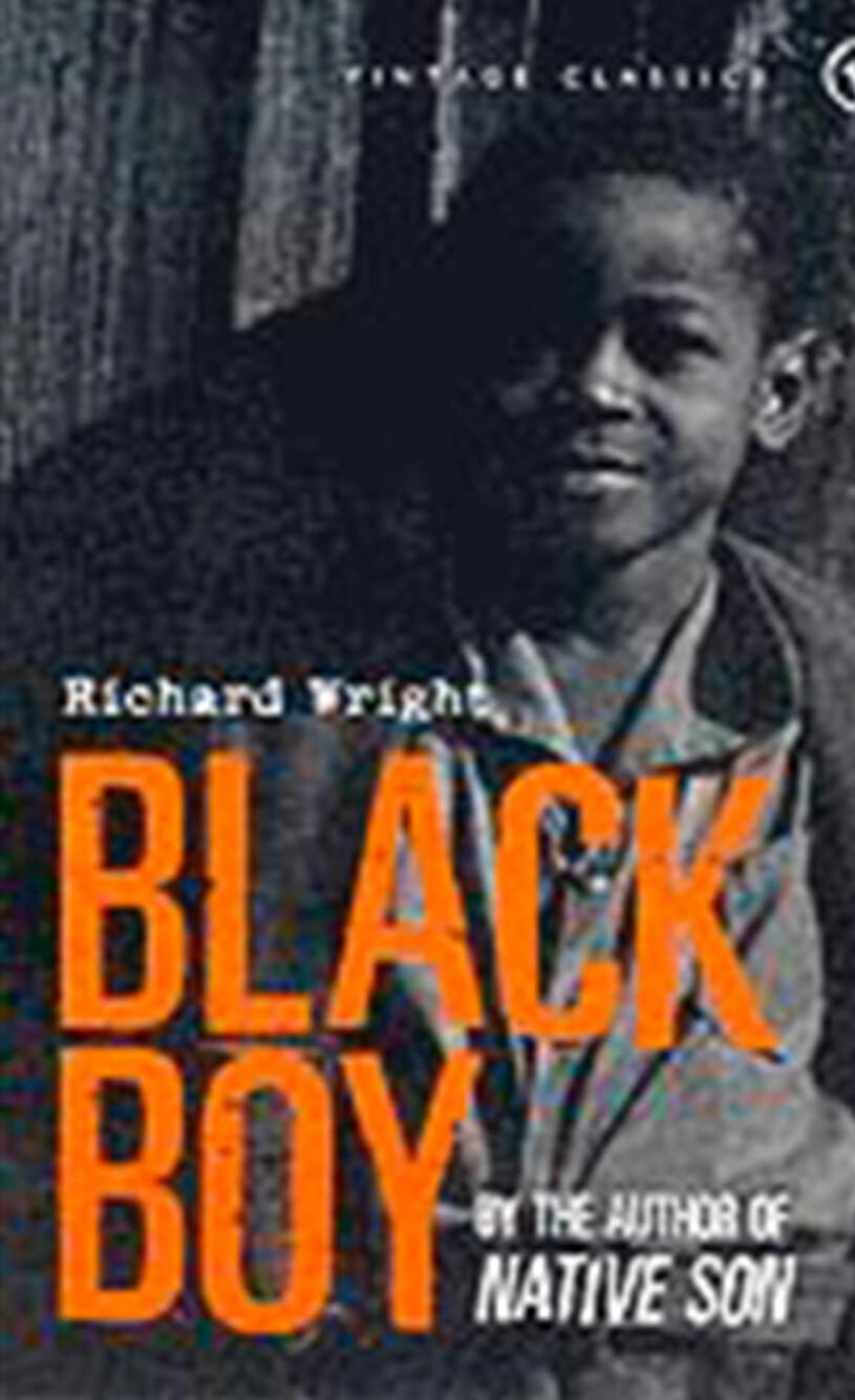 Bokomslag till Son av sitt land- foto på en ung Richard Wright.