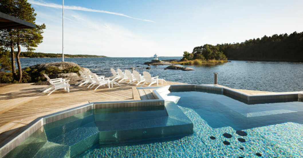 Besök Nynäs havsbad, strax utanför Stockholm