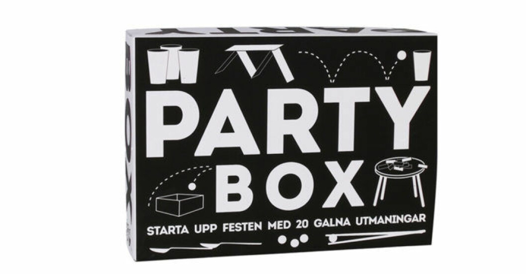 Partybox är ett stämningshöjande spel perfekt för festen