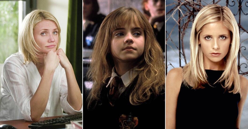 Cameron Diaz, Emma Watson och Sarah Michelle Gellar