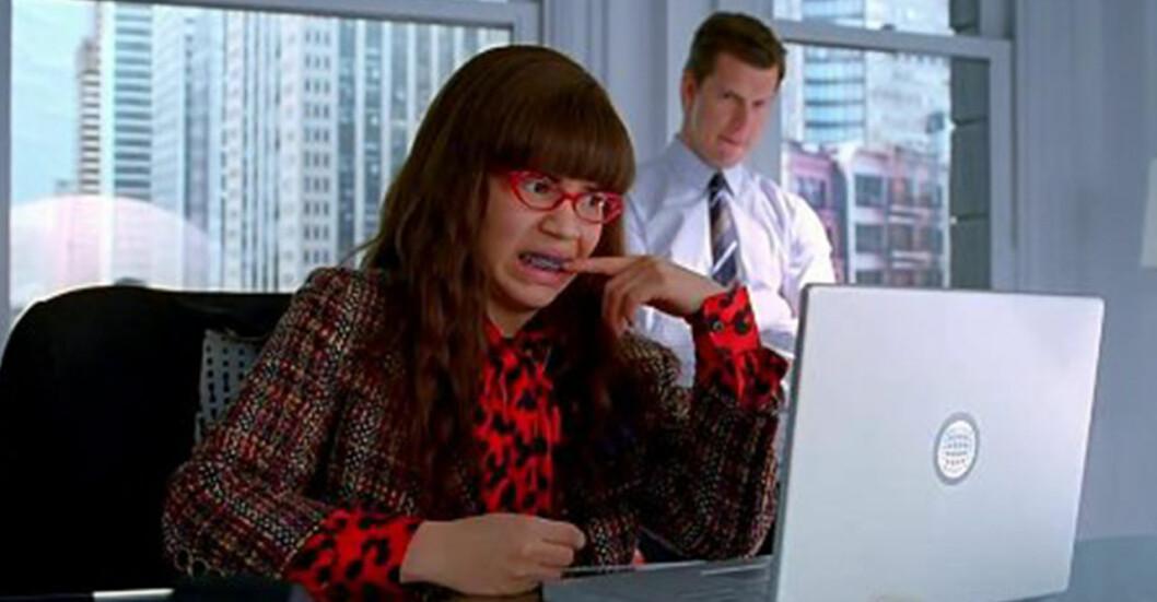 Ugly Betty jobbar