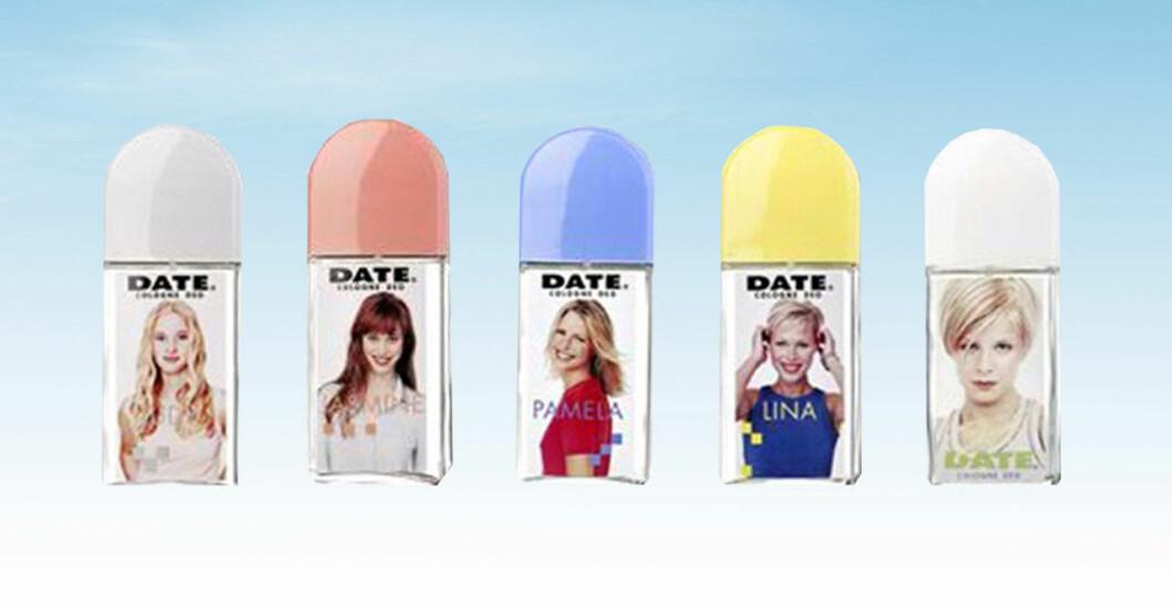 Samling med Date-parfymer