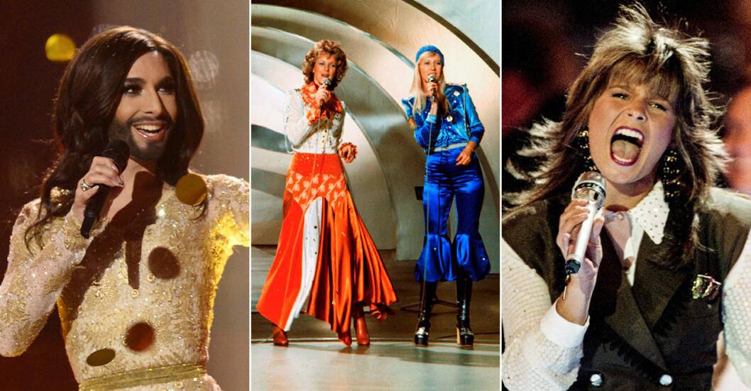 Eurovision genom åren