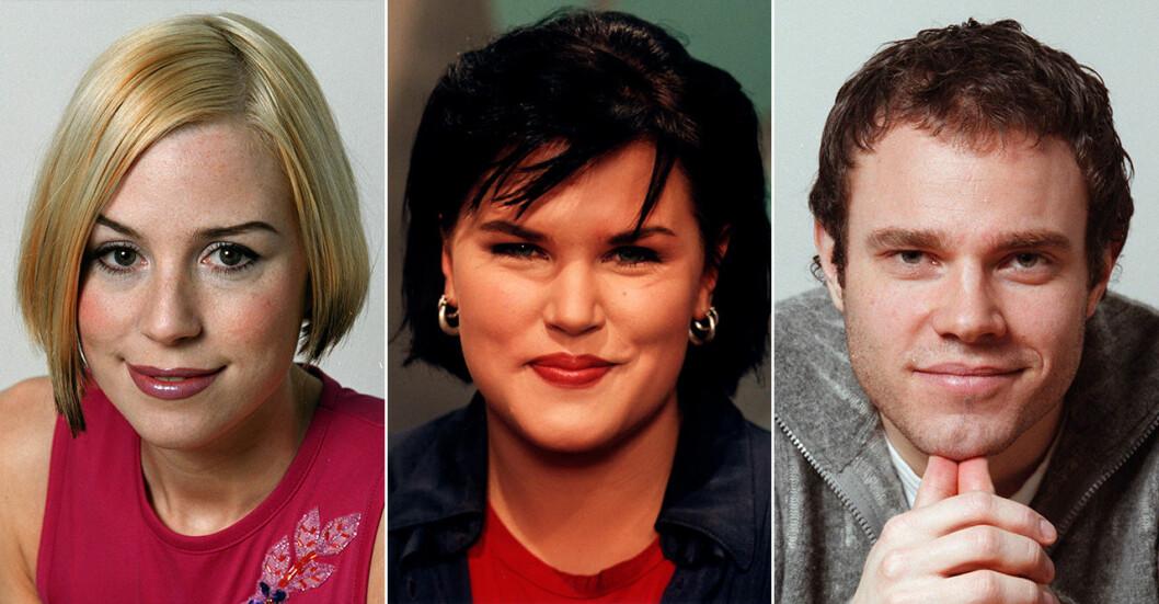 Josefin Craaford, Mia Skäringer, David Hellenius