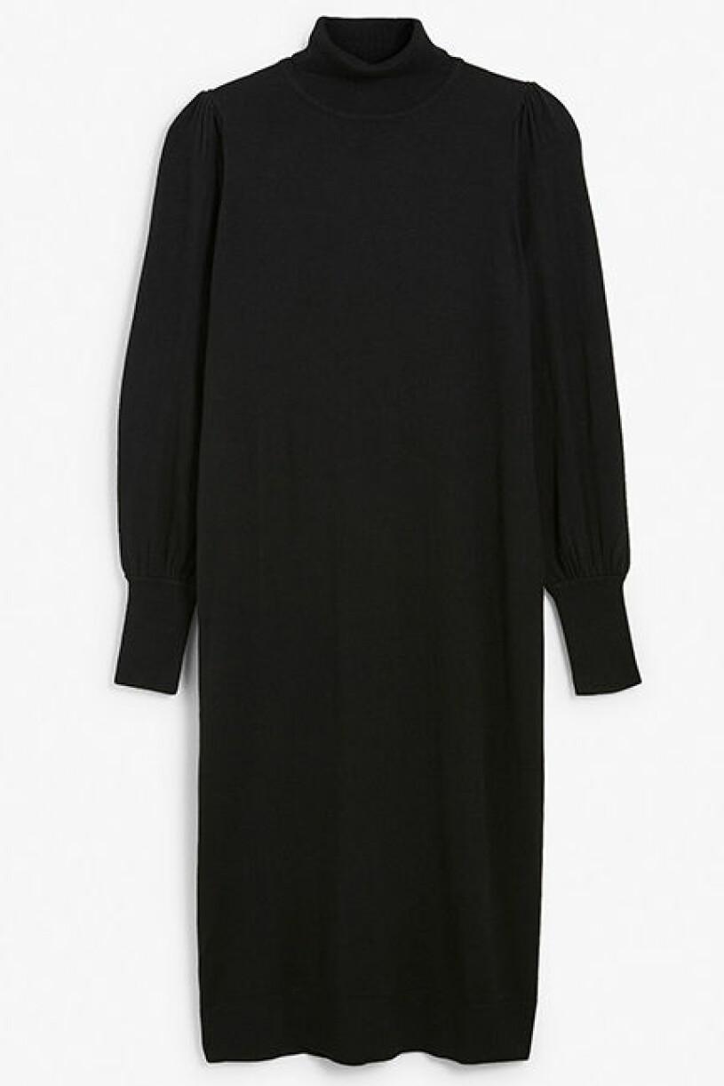 stickad klänning kappahl