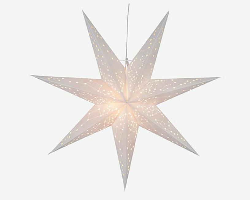Adventsstjärna med hål från Star Trading