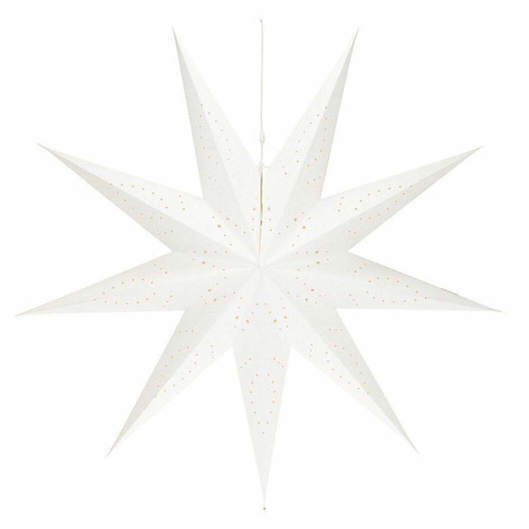 Stor julstjärna som mäter 150 centimeter – från North Light