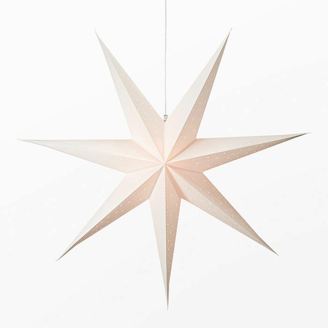 Julstjärna på 120 centimeter från åhlens