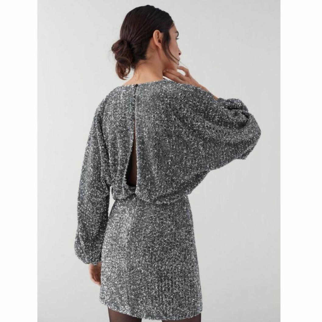 Silvrig glitterklänning från Make Way