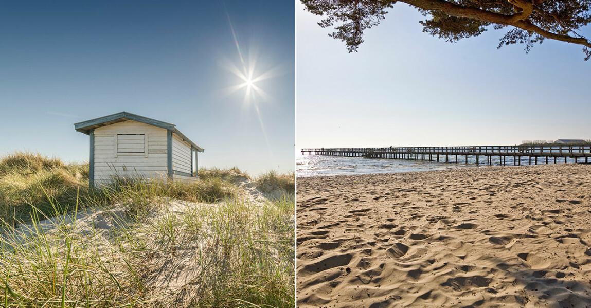 Sveriges vackraste sandstränder