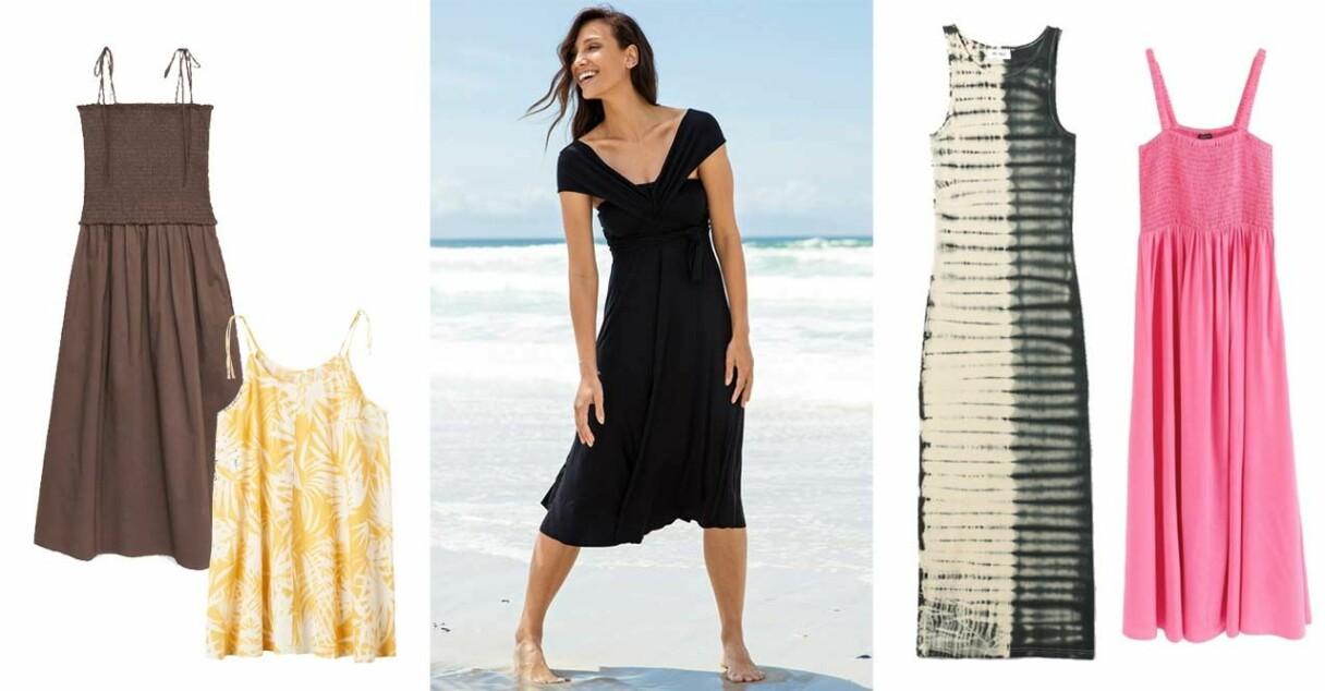 strandklänningar sommar 2021