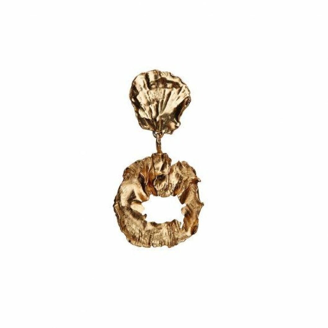 Chunky örhänge i guld