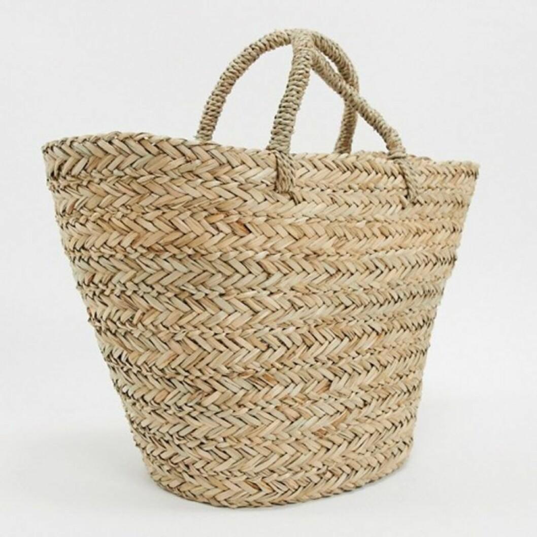 Stor stråväska från Asos