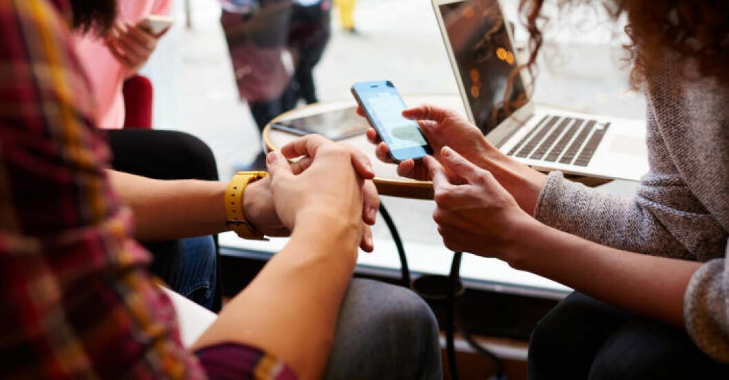Sociala medier kan göra dig mer stressad