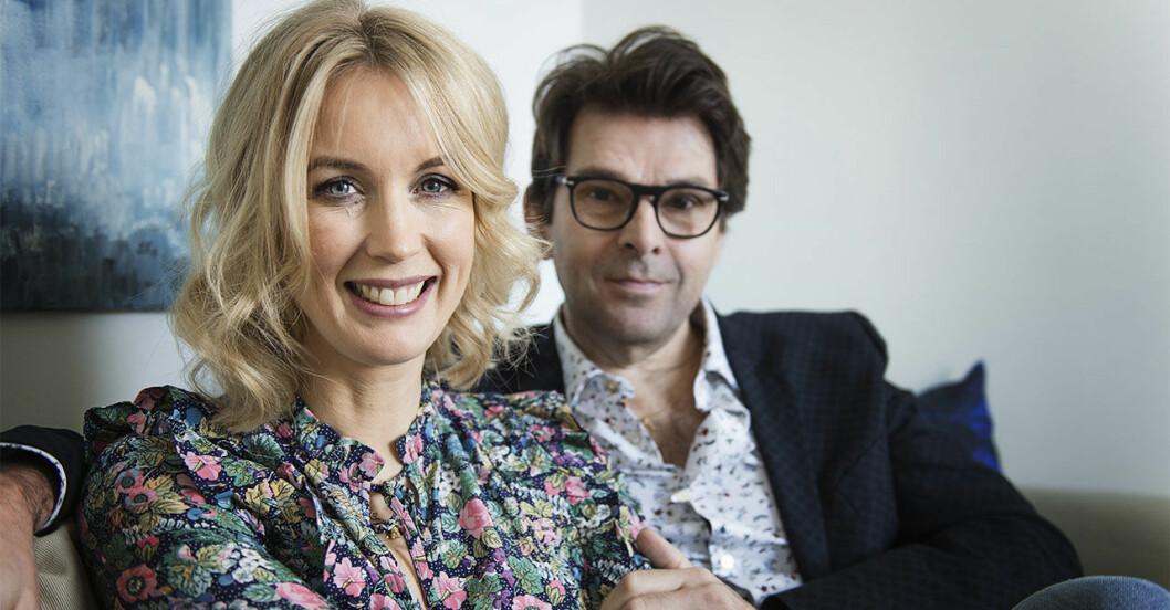 Jenny och Niklas Strömstedt i ny säsong av Tillsammans med Strömstedts