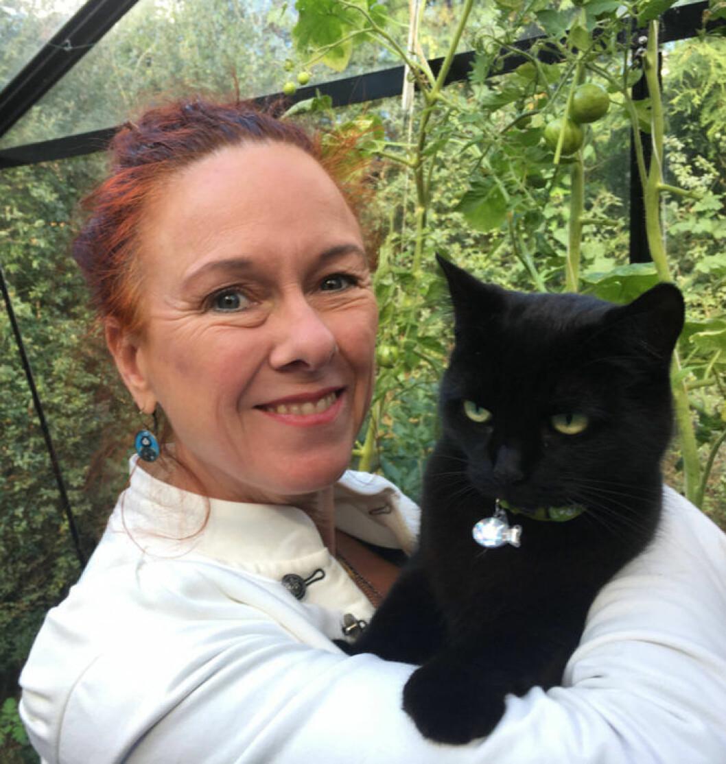 Suzanne Schötz forskar om katternas språk