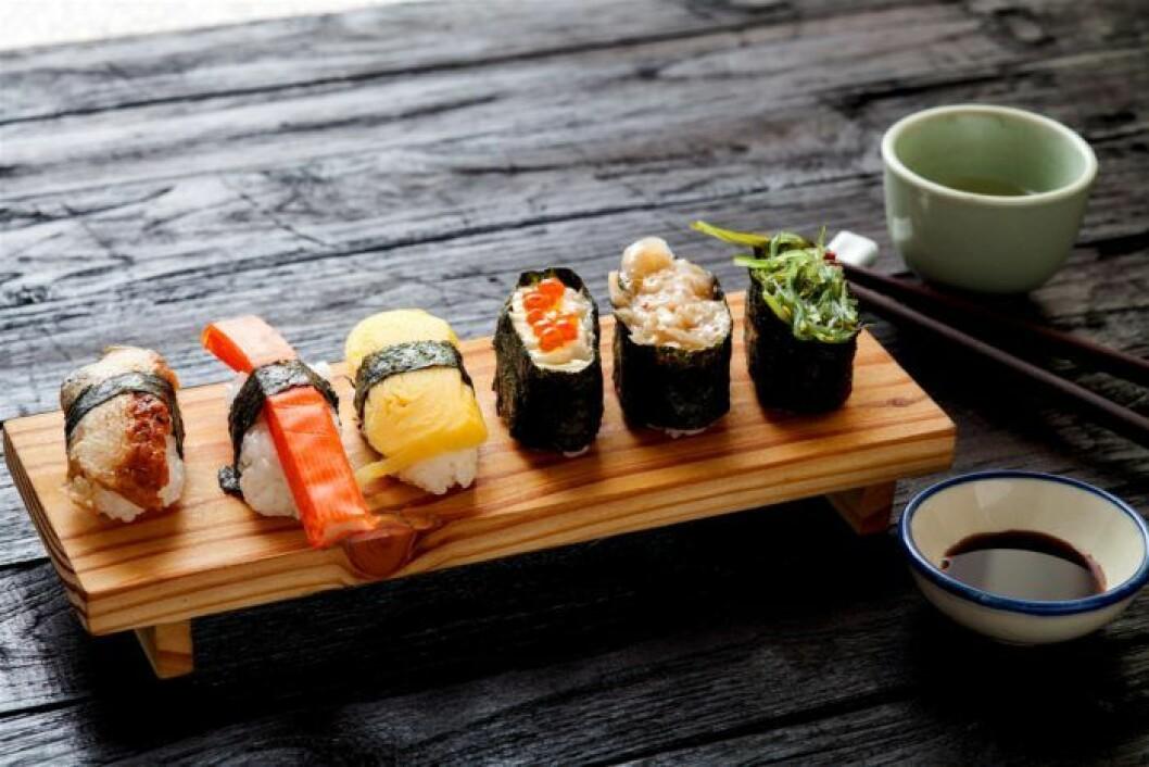 Världens bästa matupplevelser: Sushi i Tokyo