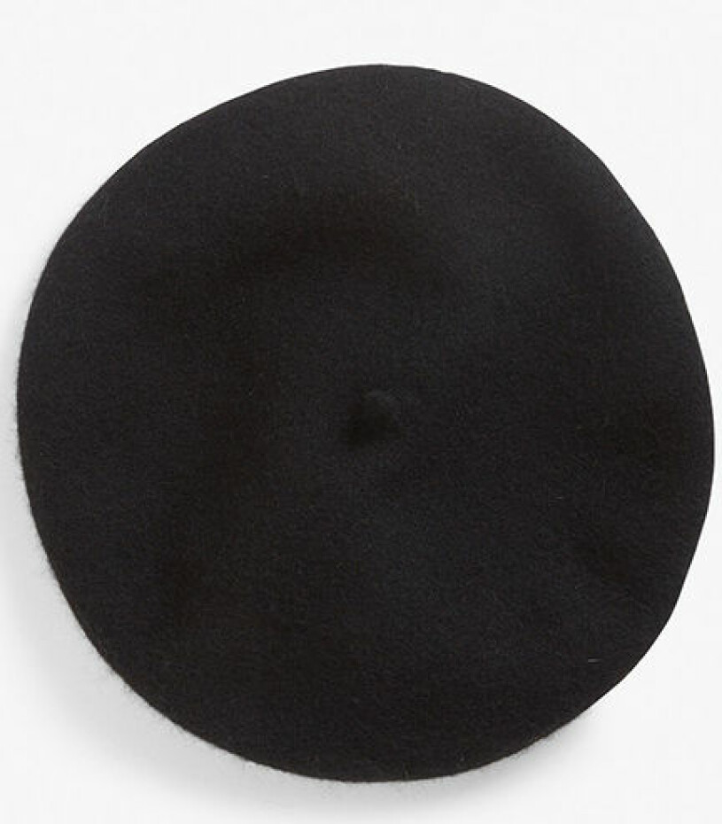 svart basker kappahl