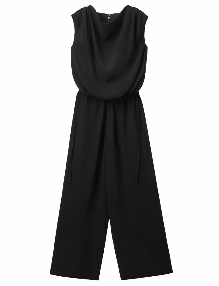 svart jumpsuit dam
