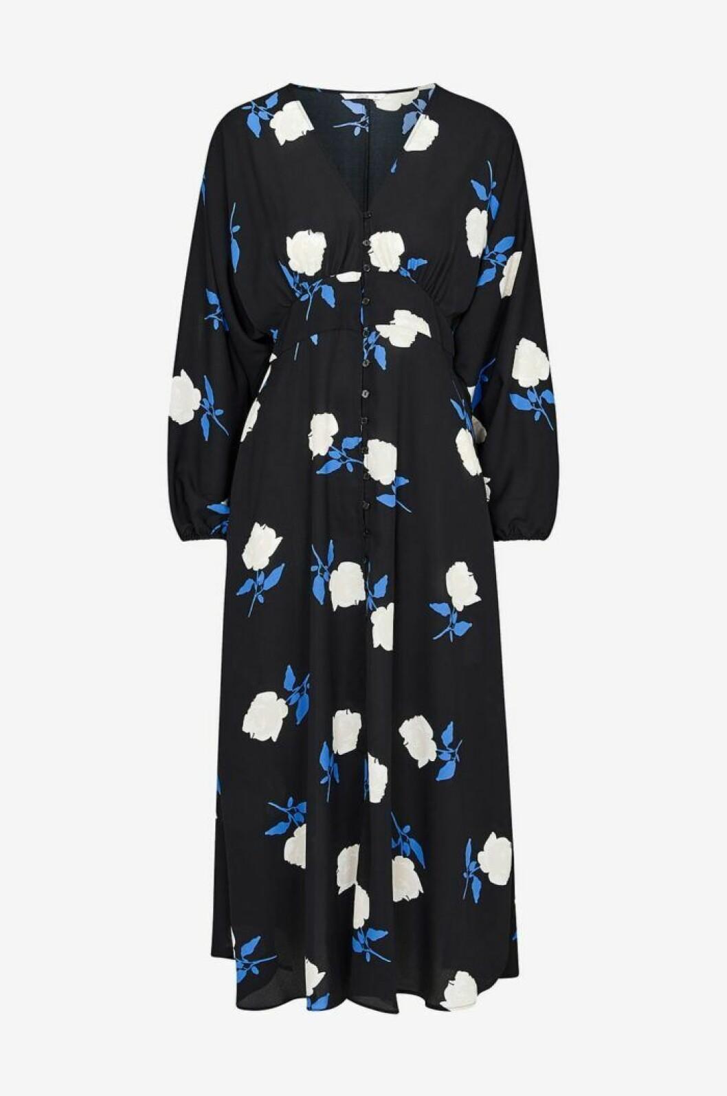 Långklänning med blommor