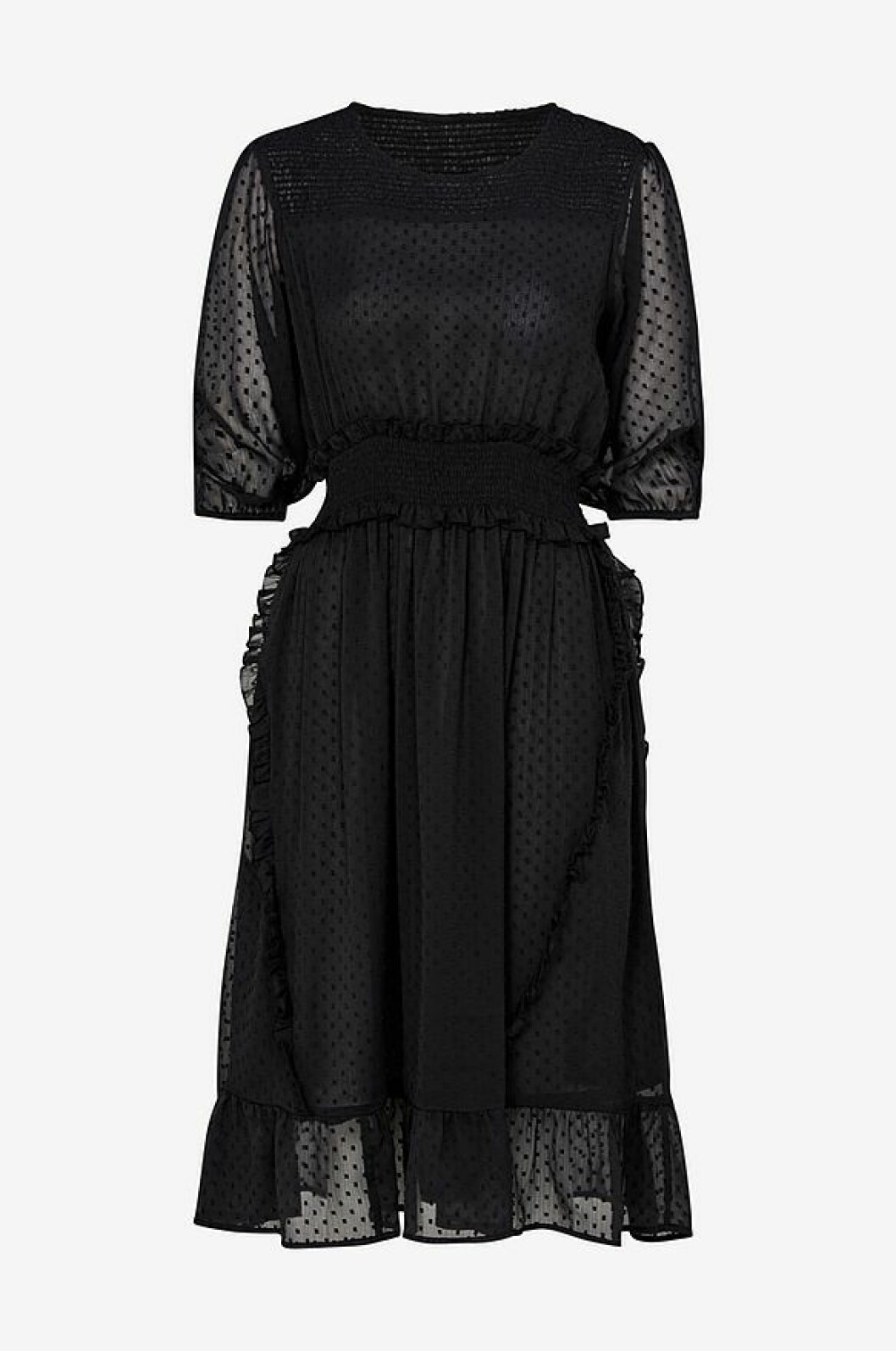 Svart klänning från ellos