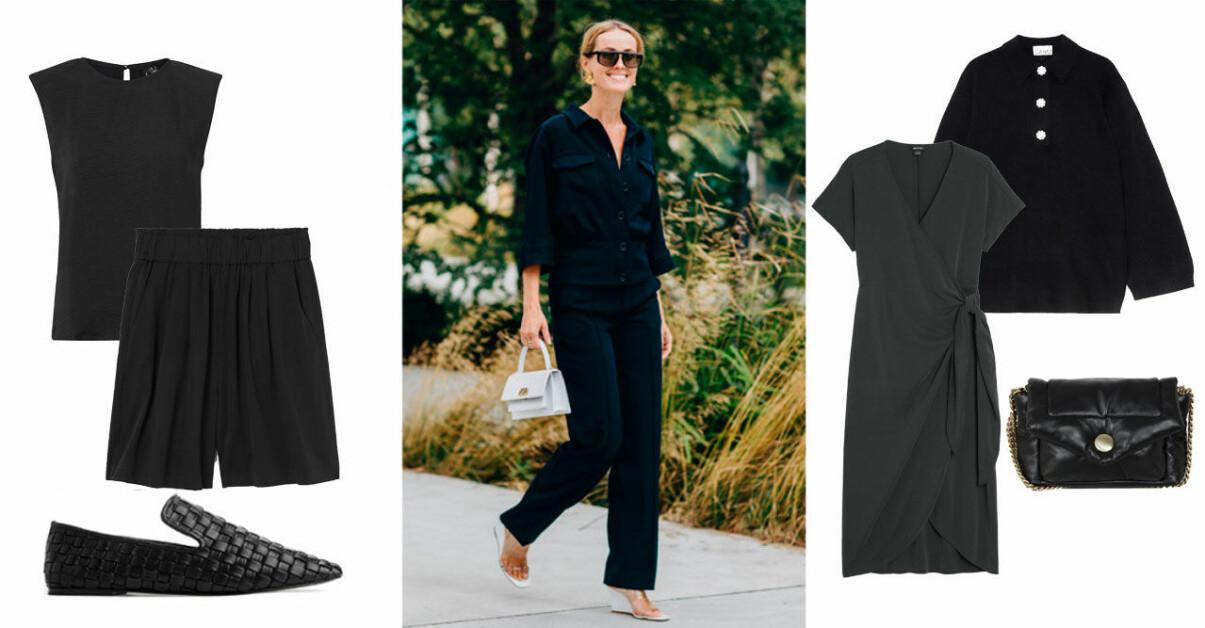 Svarta kläder vår sommar 2021