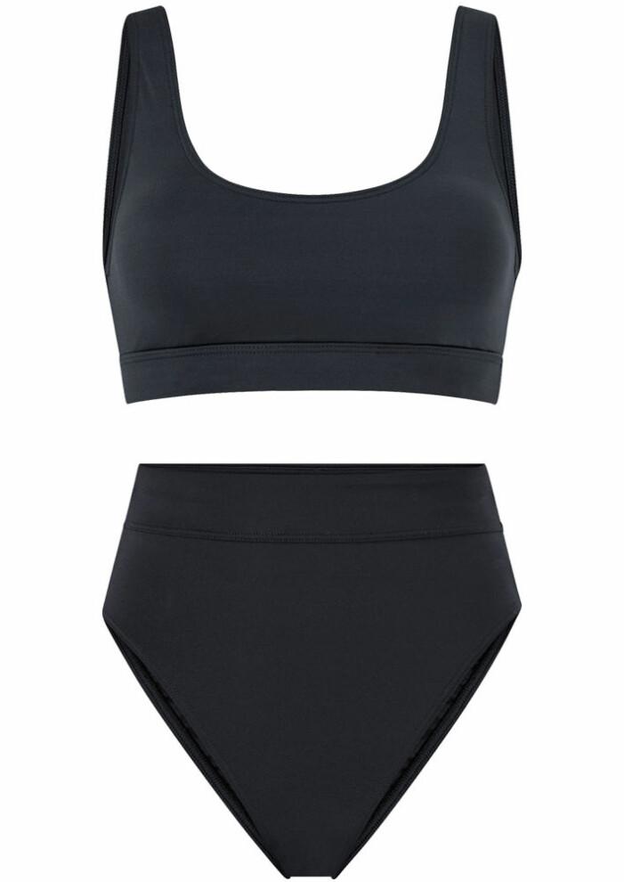 svart bikini