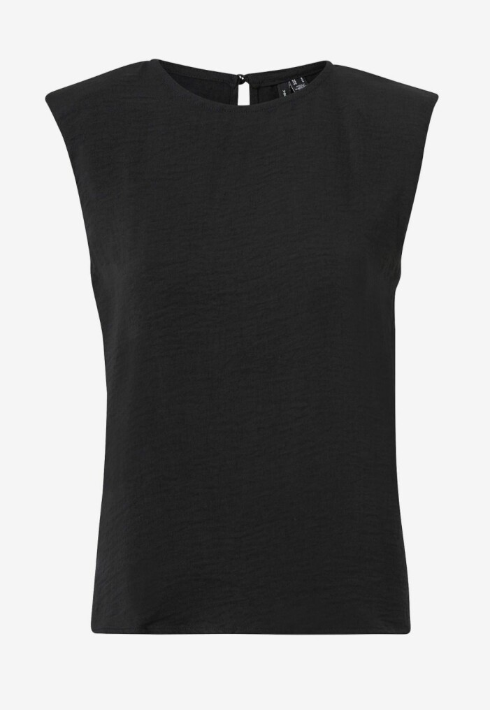 svart topp vero moda