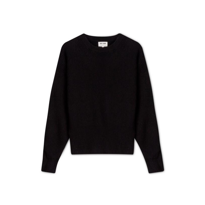 svart tröja soft goat