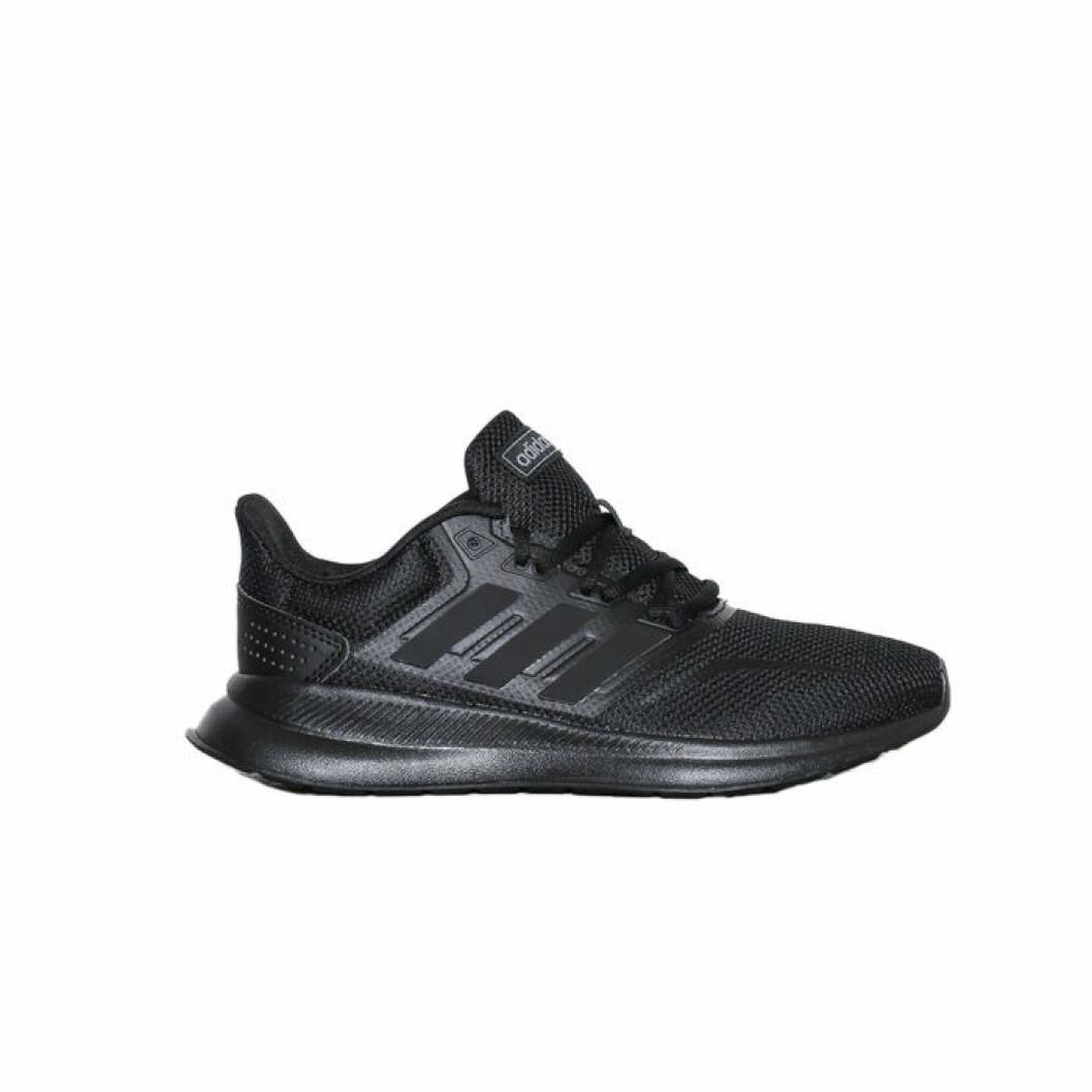svarta löparskor från adidas