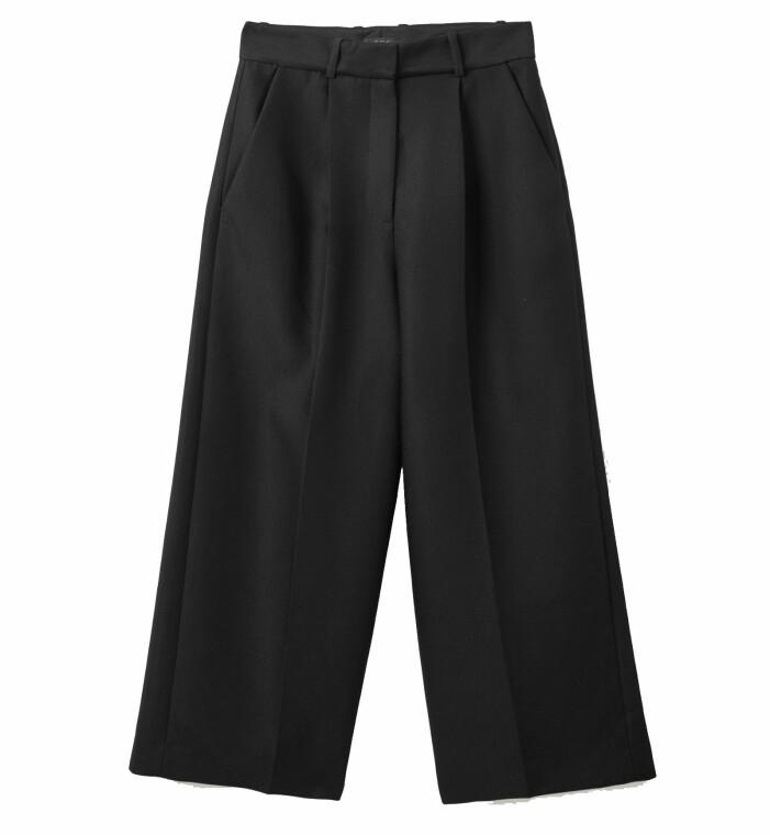 svarta kostymbyxor emd hög midja från cos
