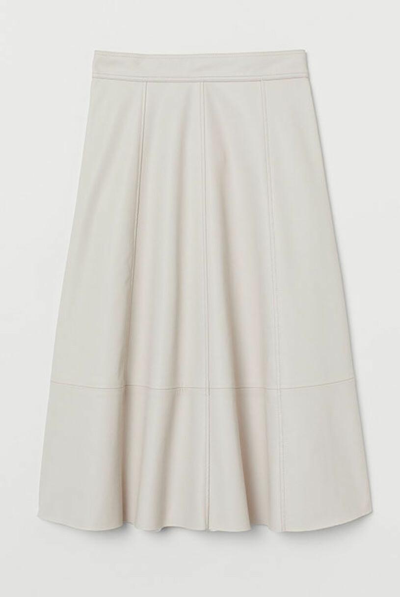 svartvitt-kjol-h&m