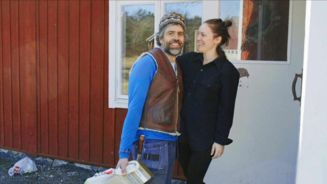 Kalle och Brita på gården