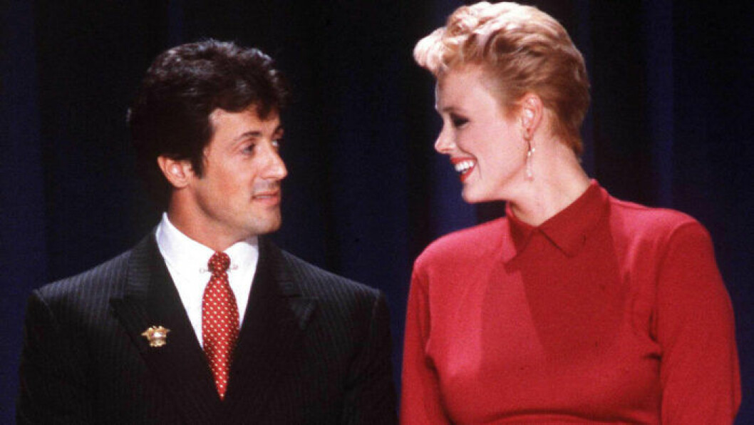 Sylvester Stallone och Brigitte Nielson