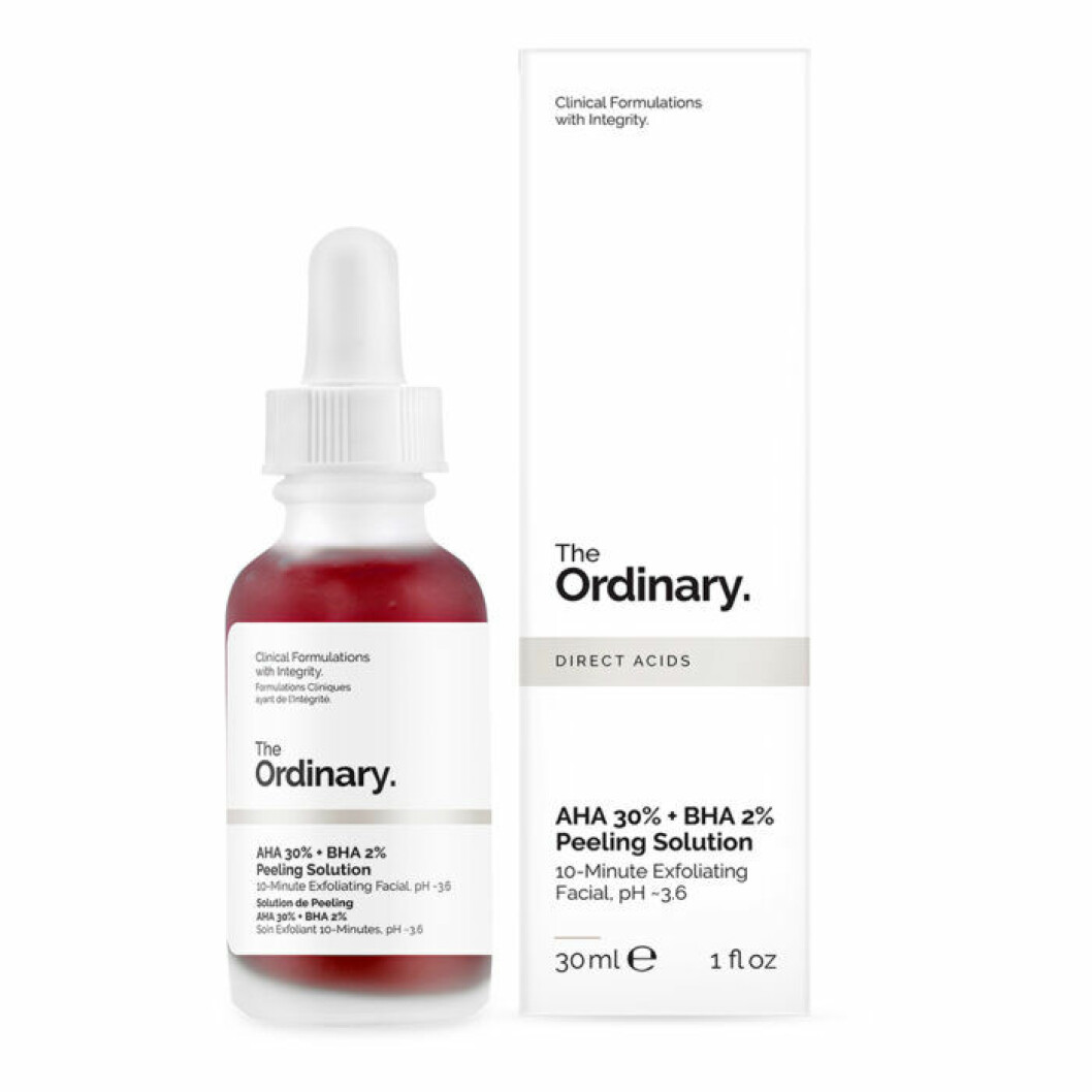 The ordinary syra peeling