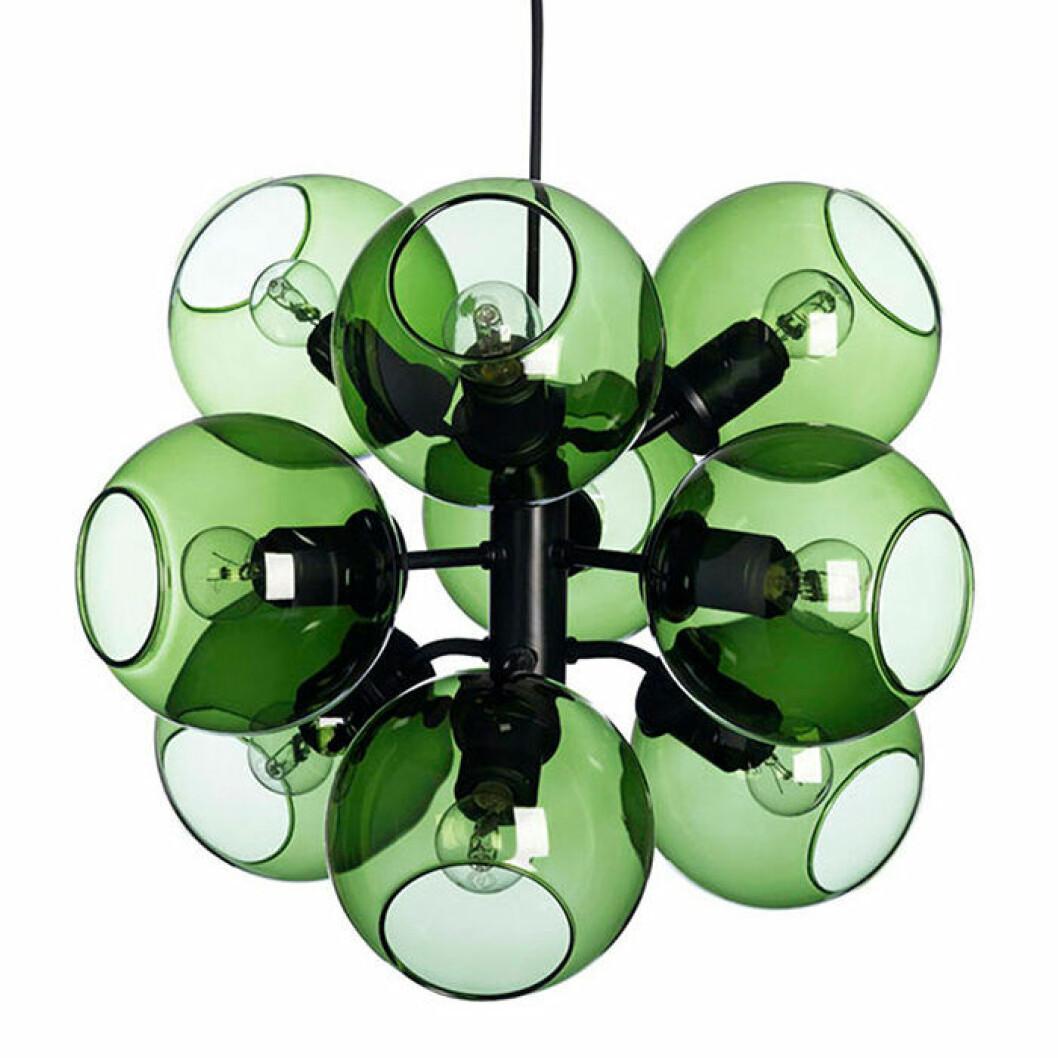 Tage taklampa från Co Bankeryd i grönt