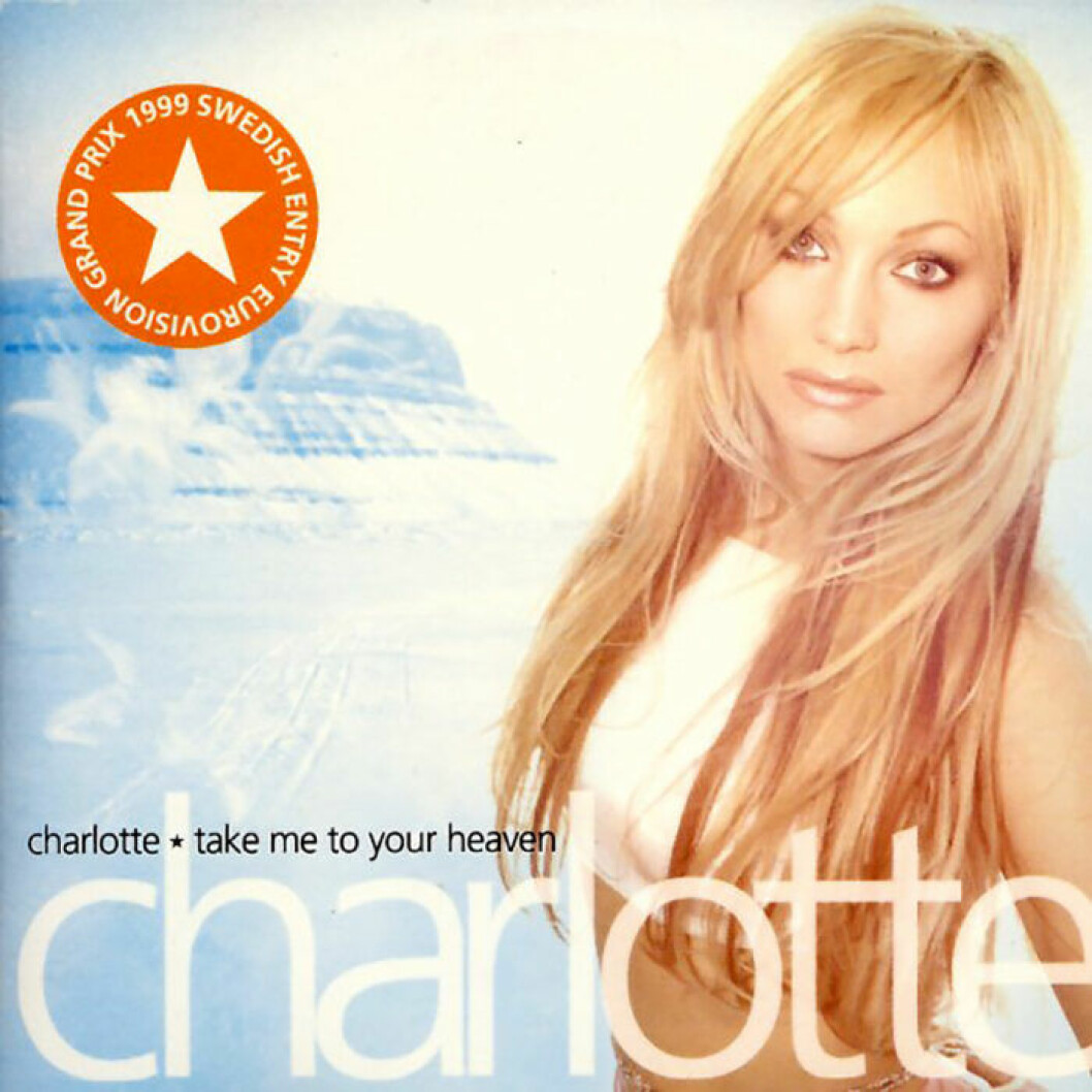 Charlotte Nilssons singel Take me to your heaven.