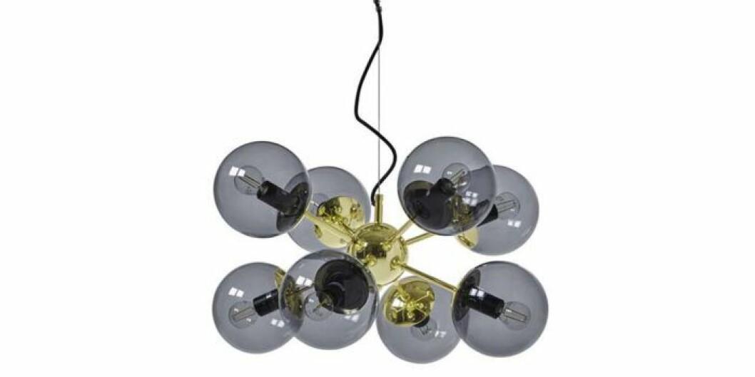 Taklampa med flera glasmlampor